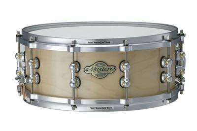 "Pearl MMP1455S/C, (14"" x 5.5""), #102 Natural Maple, Masters Premium Lilletromme, Maple (4 lag m/ Reinforcement)