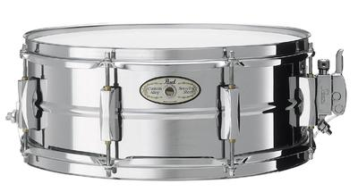 "Pearl SS1455S/C, 14"" x 5.5"", Steel w/Chrome Plating, SensiTone Steel Lilletromme,